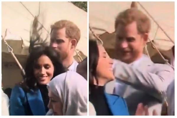 Meghan Markle e Príncipe Harry (Foto: Twitter)