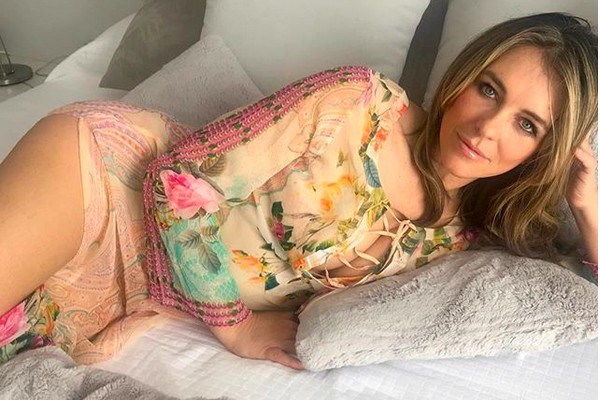 A atriz Elizabeth Hurley (Foto: Instagram)