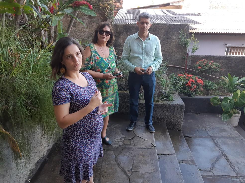 Equipe do Iphan que fará visita técnica ao Forte Príncipe da Beira nesta terça-feira, 10  (Foto: Toni Francis/G1)