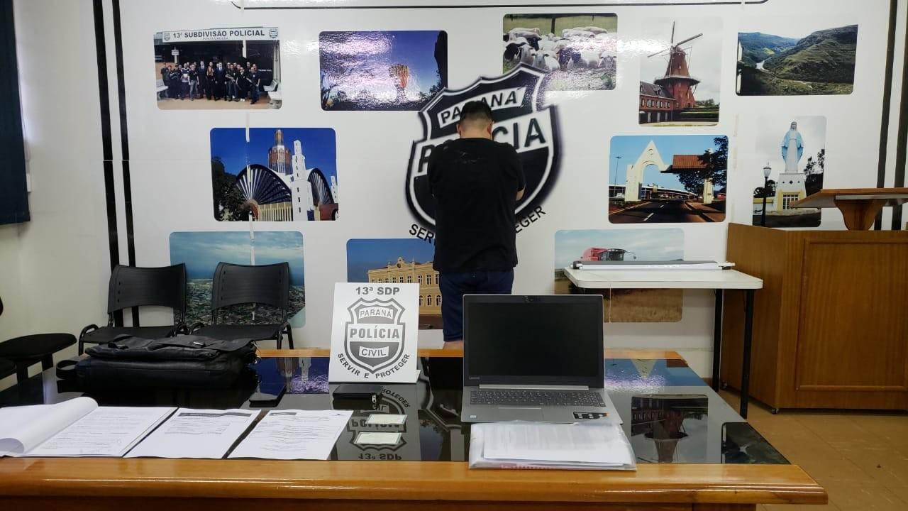 Homem foragido da Justiça em dois estados é preso se passando por auditor da Receita Federal em Ponta Grossa, diz polícia - Notícias - Plantão Diário