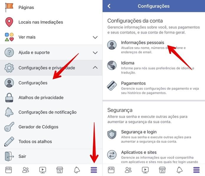 Desativar Facebook no iPhone (Foto: Reprodução/Helito Beggiora)