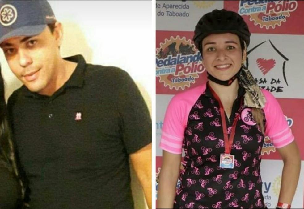 O correto de imóveis Fernando Enrique Freitas e a Regianni Araujo, de 32, assassinados pelo policial Lúcio Roberto Queiroz Silva  — Foto: Facebook / Reprodução