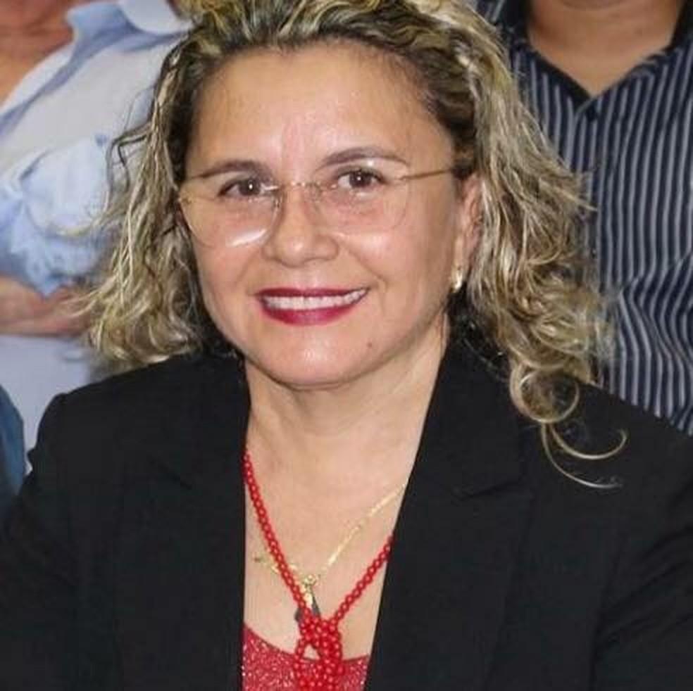 Nataly da Cunha Felipe de Souza, secretária de Saúde de Angicos — Foto: Reprodução/Facebook