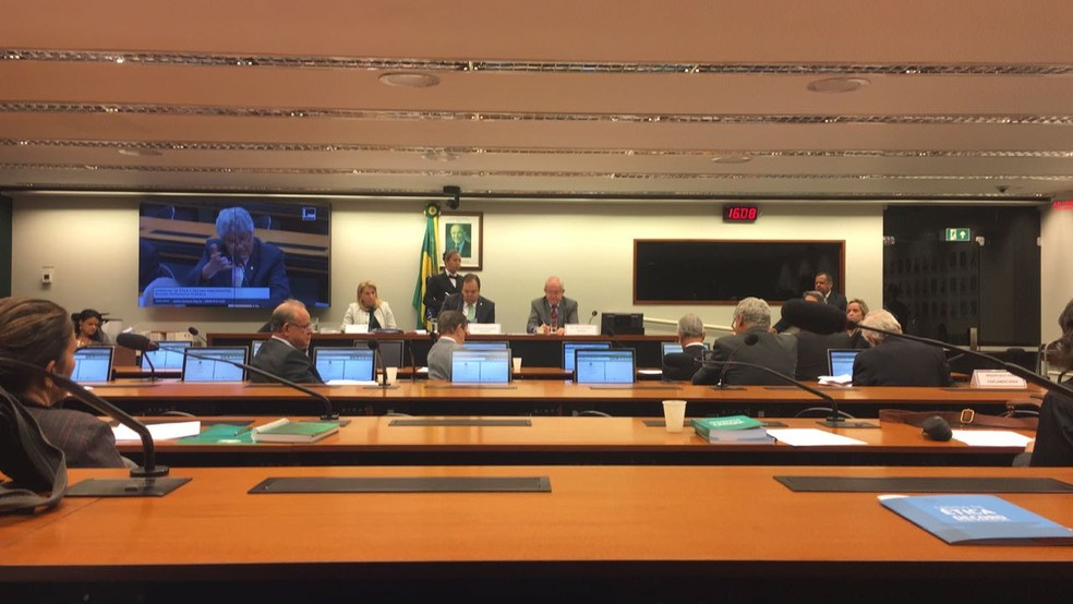 SessA?o do Conselho de A�tica da CA?mara dos Deputados (Foto: Alessandra Modzeleski/G1)
