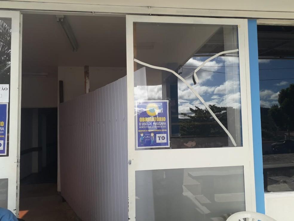 Hospital Regional de Arraias passa por reforma durante a pandemia — Foto: Divulgação/Oscar Alves