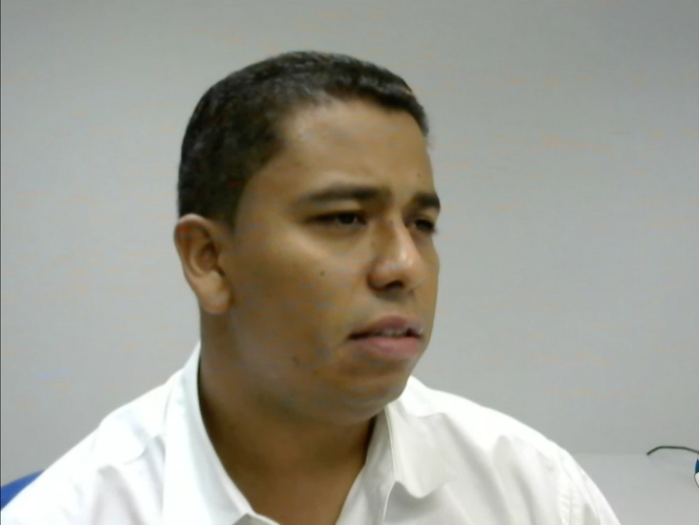 Cabo PM Gerson Corrêa Júnior, que está preso por envolvimento no esquema dos grampos desde maio de 2017 (Foto: TVCA/Reprodução)