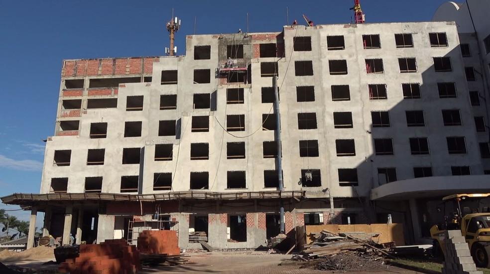 Com novos hotéis, número de leitos em Foz do Iguaçu vai passar de 27,5 mil para 32 mil — Foto: Reprodução/RPC