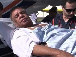 Agnaldo Timóteo está internado em estado crítico na UTI em SP (Reprodução/GloboNews)