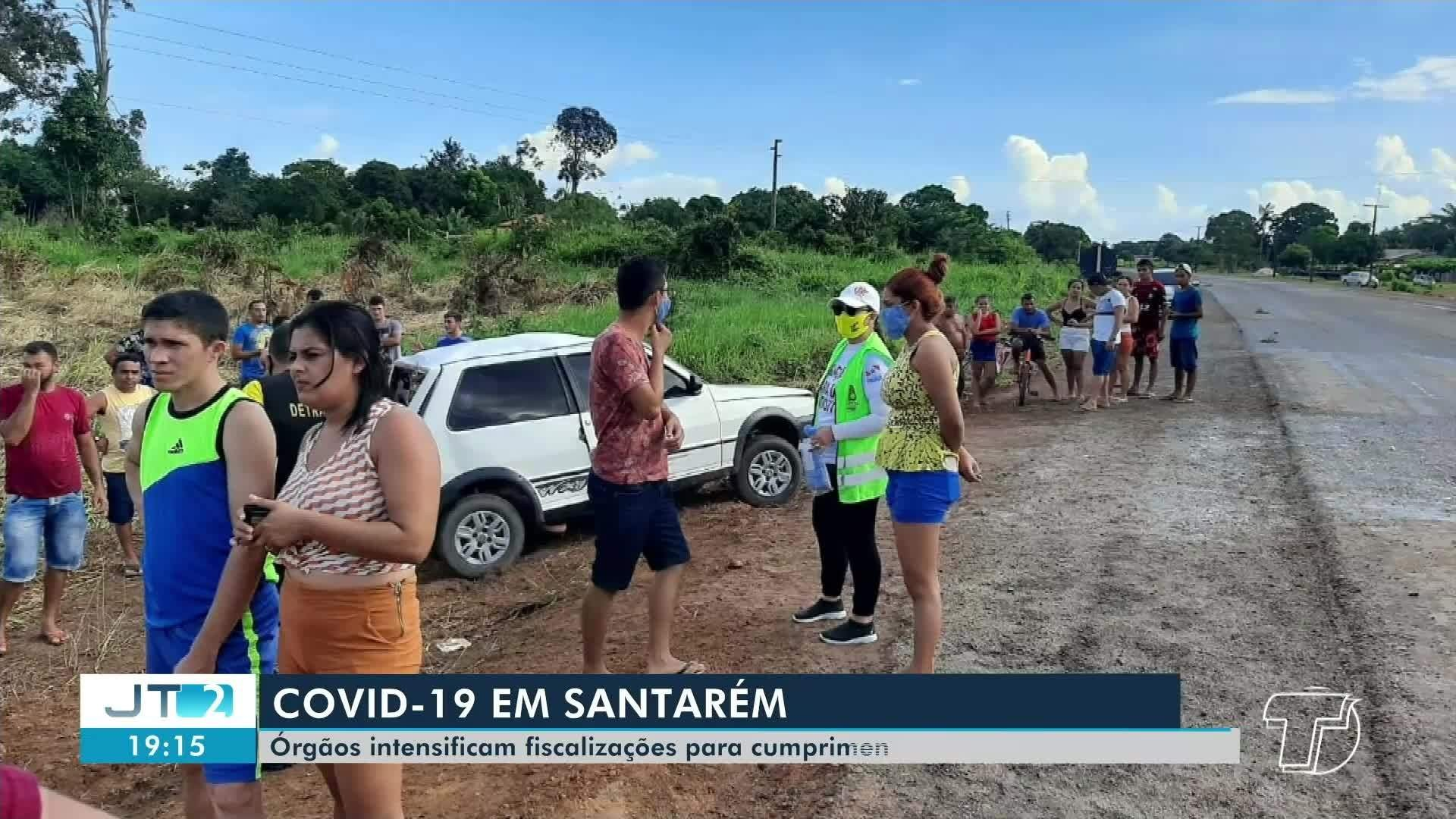 VÍDEOS: Jornal Tapajós 2ª Edição de segunda-feira, 6 de julho de 2020