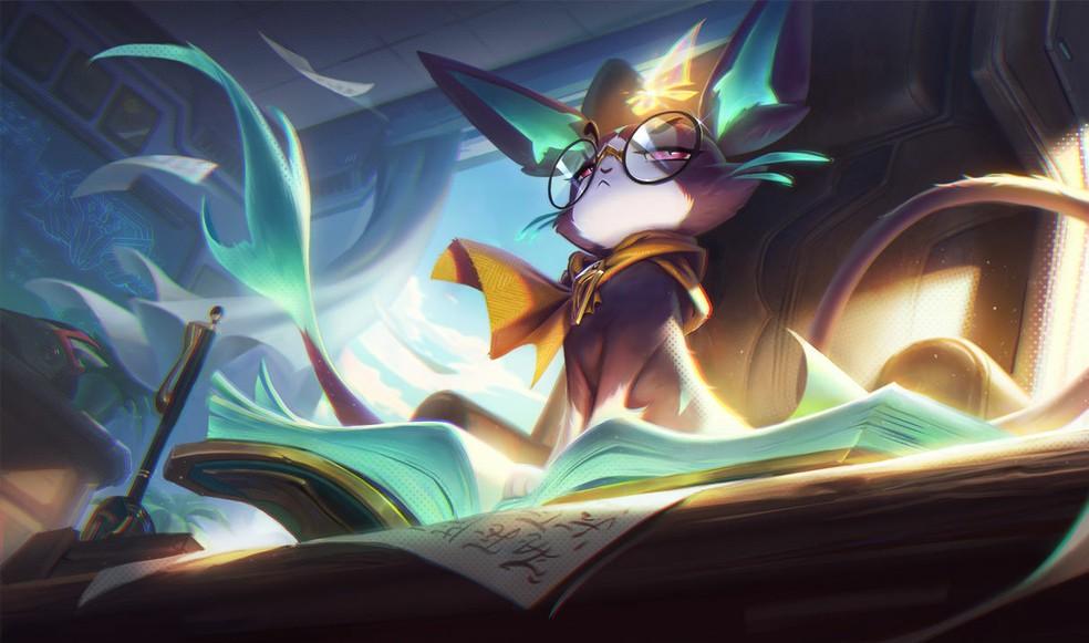 Yuumi Diretora da Academia — Foto: Divulgação/League of Legends