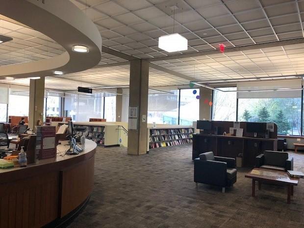 Biblioteca da Sloan School of Management (Foto: Fernanda Lopes de Macedo Thees)