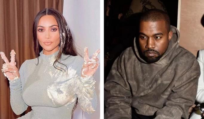 """Papelada do divórcio aponta para """"diferenças irreconciliáveis"""" entre Kim Kardashian e Kanye West"""