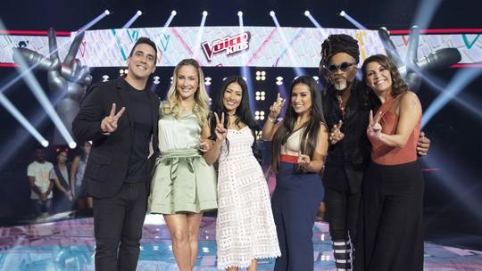 Emoção marca o primeiro dia de Batalhas no 'The Voice Kids'