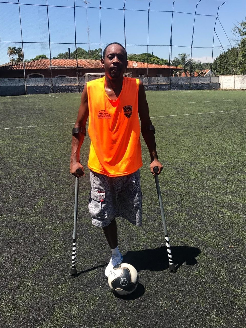 Flávio Junior de Souza é irmão do motorista e morreu no acidente — Foto: Arquivo pessoal