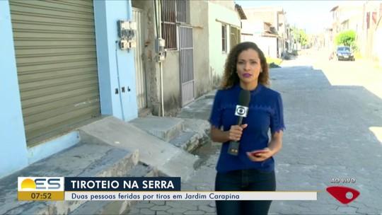Tiroteio em Jardim Carapina na Serra, ES, deixa dois feridos