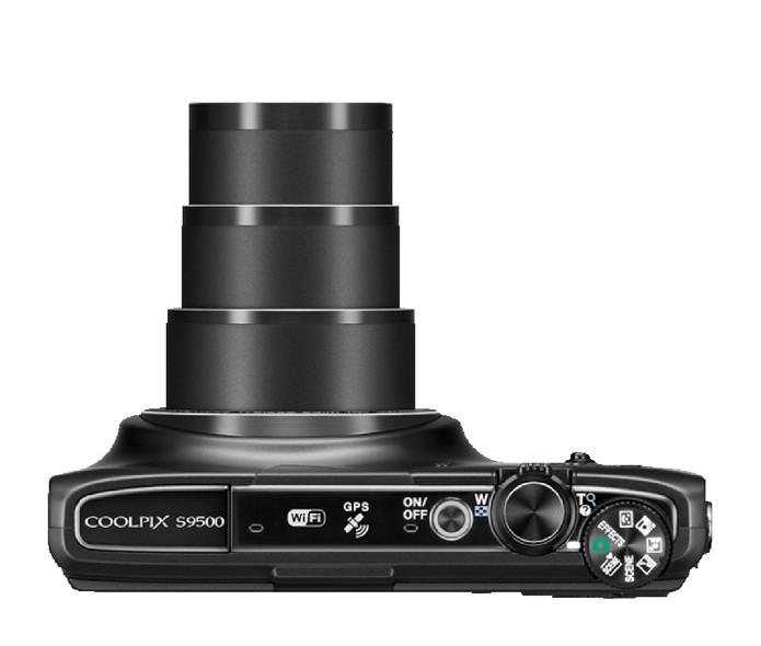 Nova COOLPIX S9500 da Nikon conta com superzoom de 22x, GPS e Wi-Fi. (Foto: Divulgação) (Foto: Nova COOLPIX S9500 da Nikon conta com superzoom de 22x, GPS e Wi-Fi. (Foto: Divulgação))