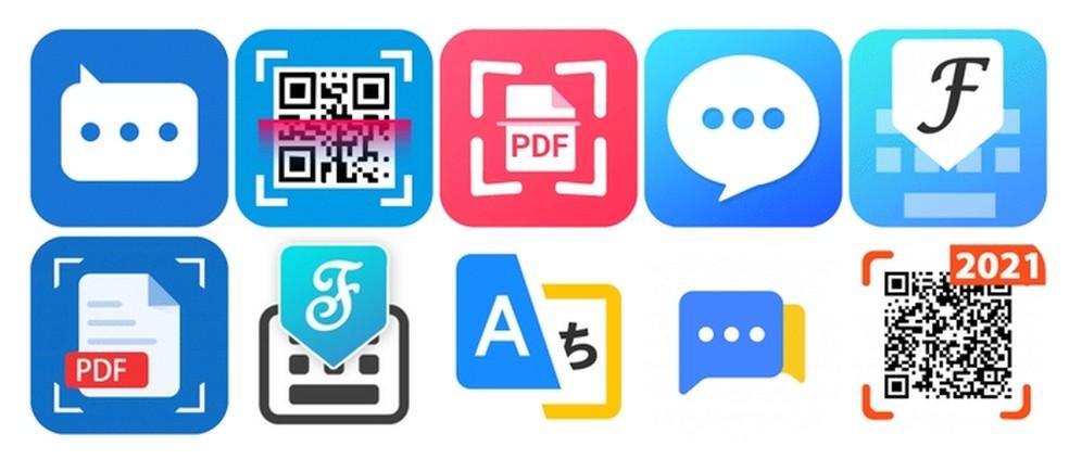 Aplicativos infectados com malware Joker presentes na Play Store — Foto: Divulgação/Zscale
