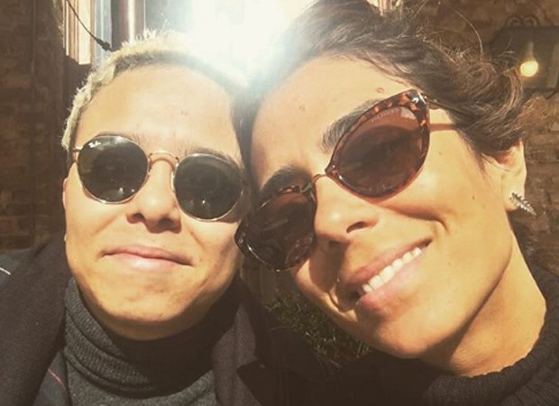 Maria Gadú e a mulher, Lua Leça (Foto: Reprodução/Instagram)
