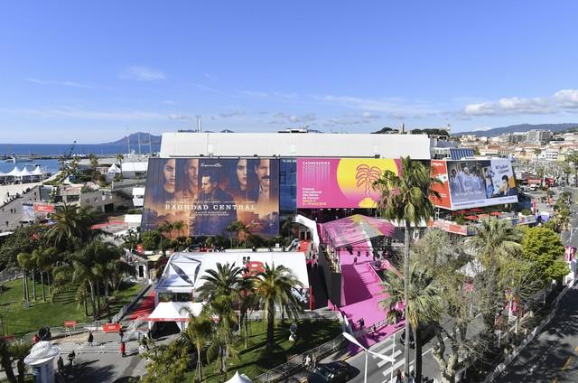 Vista aérea do MipTV, em Cannes (Foto: Divulgação MipTV)