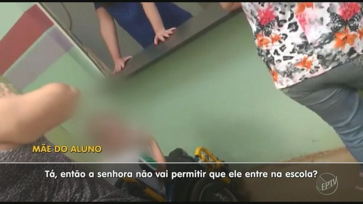 Funcionária de escola em Mogi Guaçu recusa menino com paralisia cerebral por falta de profissional especializado; vídeo