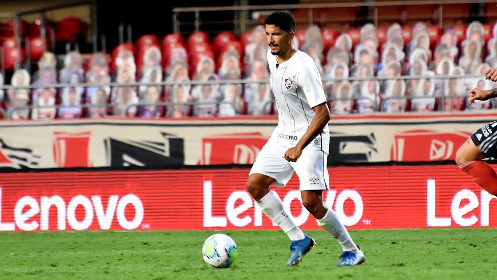 Yuri, volante do Fluminense — Foto: Mailson Santana / Fluminense FC