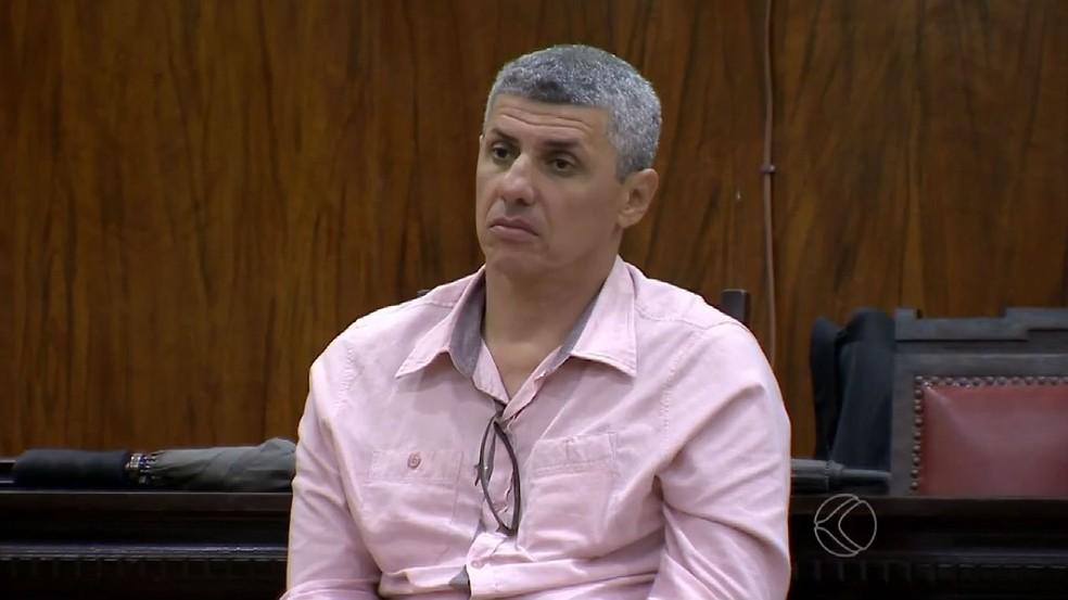 Marcos André Cavanellas chegou a ser condenado a 10 anos de prisão em 2015, mas júri foi anulado (Foto: Reprodução/TV Integração)