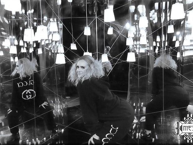 Adele celebra seus 31 anos (Foto: Reprodução/Instagram)