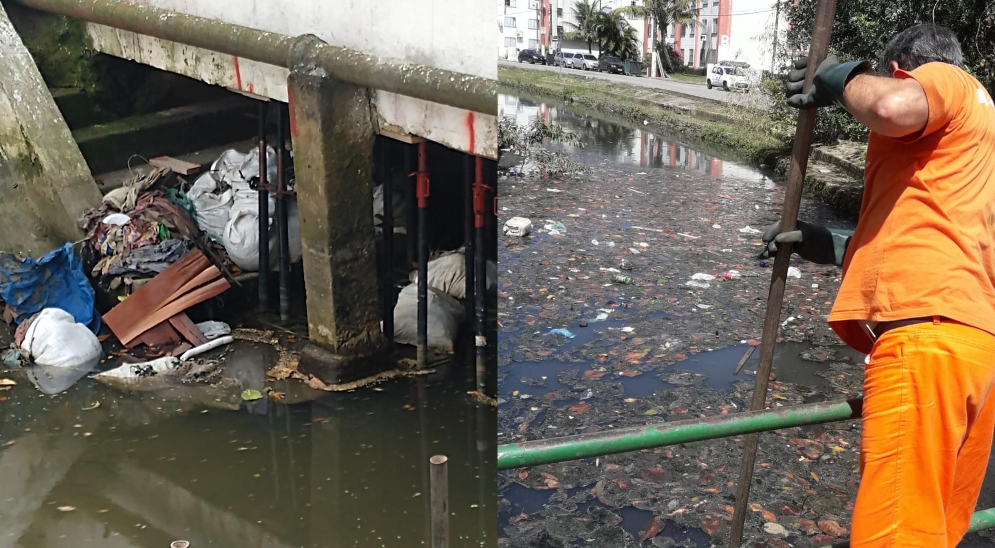 Prefeitura de Santos alerta para quantidade de lixo irregular recolhido diariamente