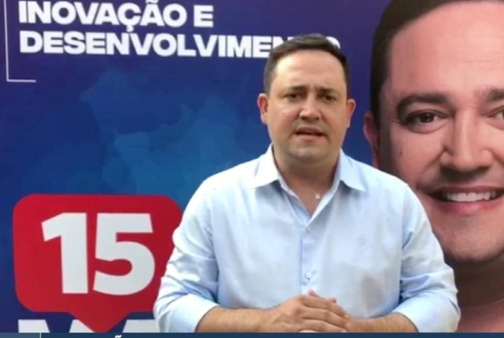 Márcio Fernandes foi oficializado como candidato à prefeitura de Campo Grande pelo MDB — Foto: Reprodução/Redes Sociais