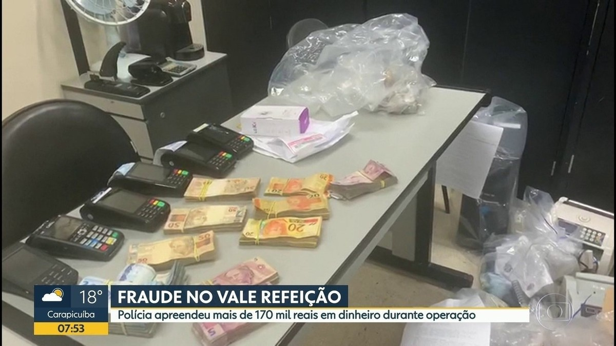 Polícia Civil faz operação para combater lavagem de dinheiro e venda ilegal de vale refeição em SP