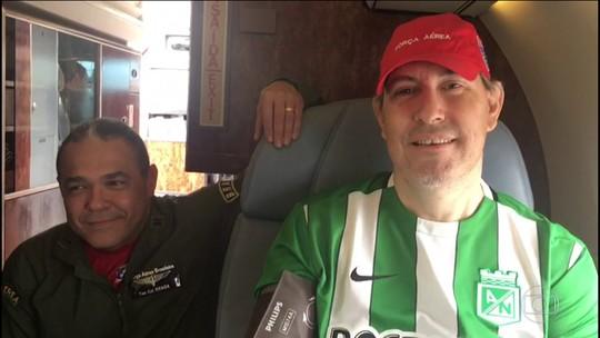 Mais dois sobreviventes do voo da LaMia estão a caminho de Chapecó