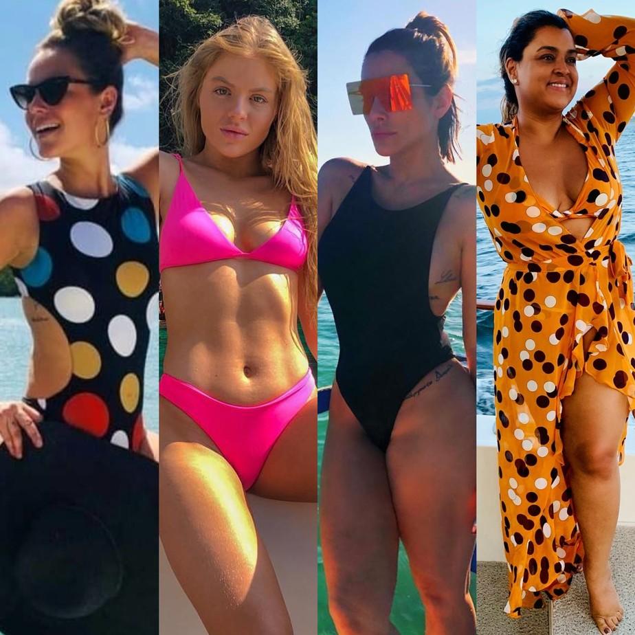 6acd7dfd9 ... Moda praia: veja biquínis e acessórios que são tendência neste verão