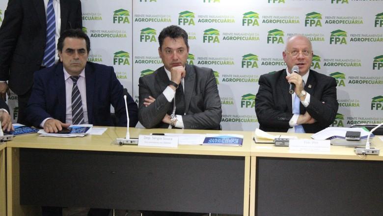 Frente-parlamentar-agropecuária (Foto: Divulgação/Frente Parlamentar da Agropecuária)