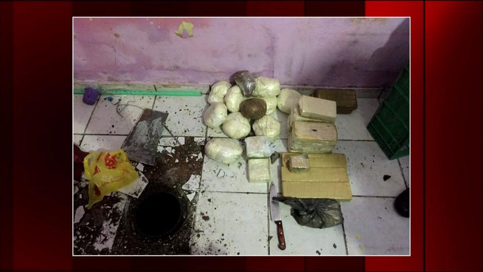 Rota faz megaoperação de combate ao tráfico de drogas e roubos em SP (Foto: Reprodução/TV Globo)