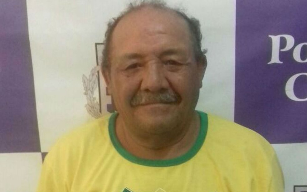 Idoso de 63 anos era procurado por tráfico de drogas  (Foto: Divulgação/Polícia Civil)