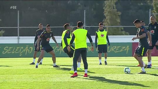 Em Portugal, Seleção Brasileira faz o último treino antes de enfrentar o Panamá pelo amistoso