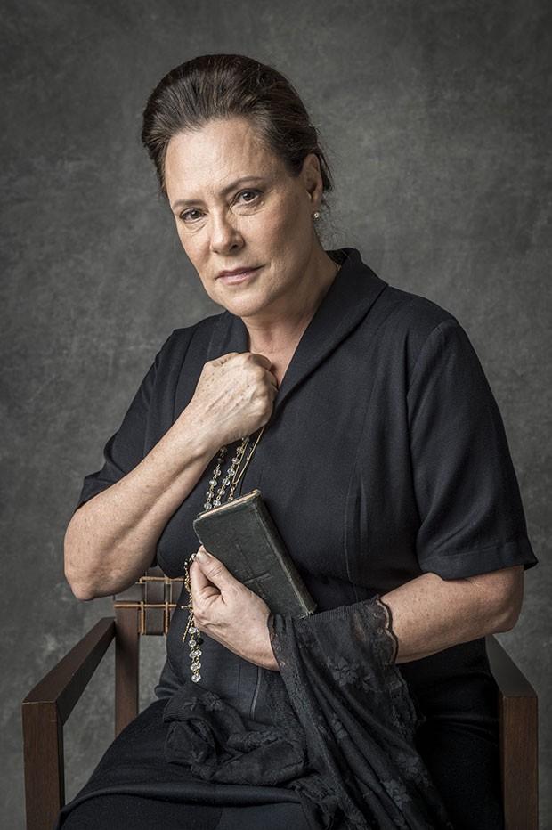 Elizabeth Savalla como Mirtes (Foto: João Cotta/Globo)