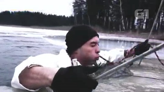 Treinamento no gelo é desafio esgotante para soldados americanos na Letônia