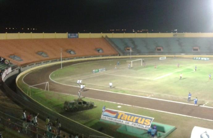Estádio Douradão, em Dourados (Foto: Liziane Zarpelon/TV Morena)