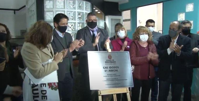 Ricardo Nunes inaugura Centro de Acolhida de Idosos com 120 vagas no Brás, no Centro de SP