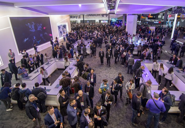 Vista do Mobile World Congress 2018 (Foto: Robert Marquardt/Getty Images)