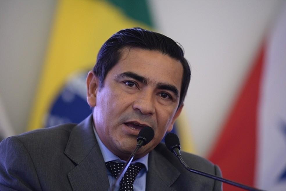 Silvio Amorim (PSL) tinha dupla filiação comprovada por certidão de cartório da Justiça Eleitoral — Foto: Ascom Câmara/Divulgação