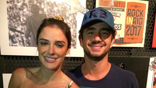 Rafa Brittes e Felipe Andreoli tentam acertar os verdadeiros nomes das estrelas do Rock in Rio