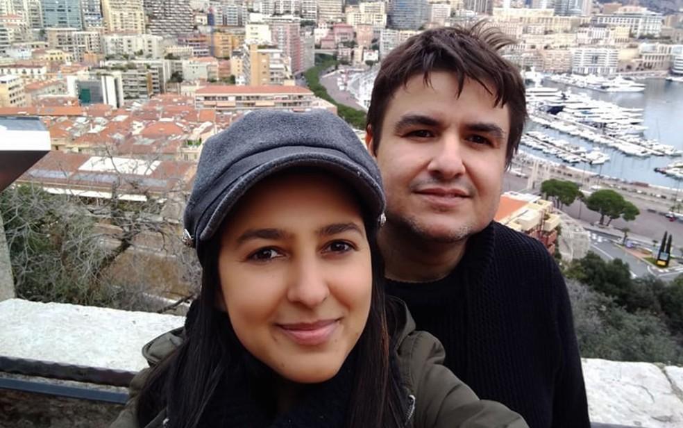 Casal que morava no sudoeste da Bahia é baleado na França e mulher relata atentado em Toulon — Foto: Reprodução/Redes Sociais