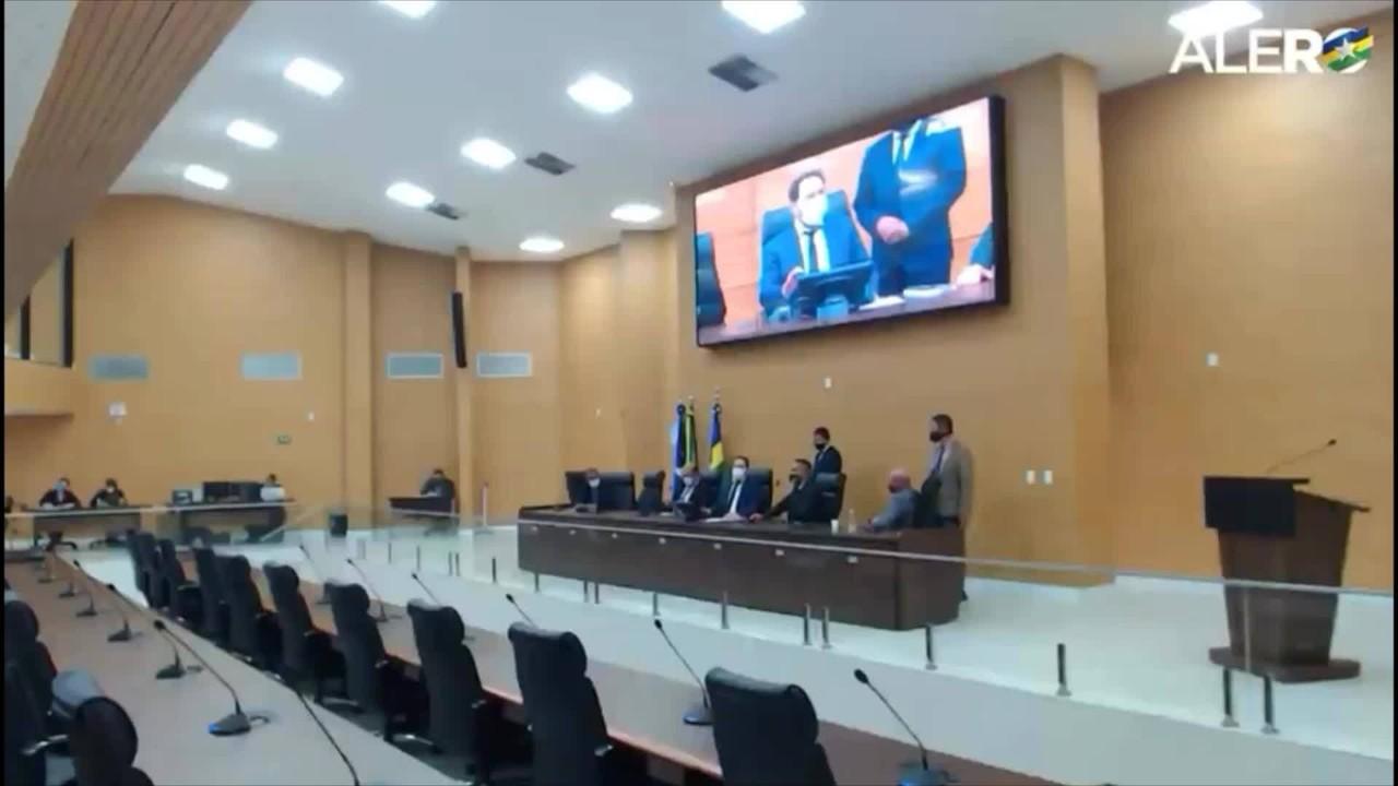 ALE-RO suspende sessão sem iniciar votação