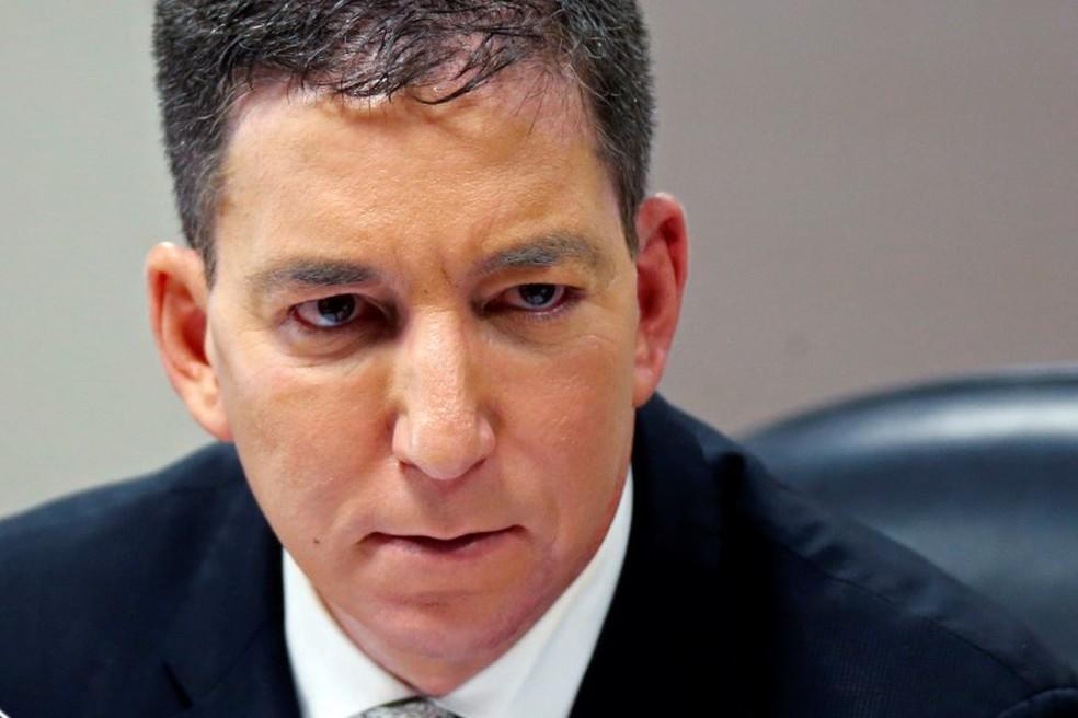 Jornalista Glenn Greenwald em julho de 2019 — Foto: Adriano Machado/Reuters
