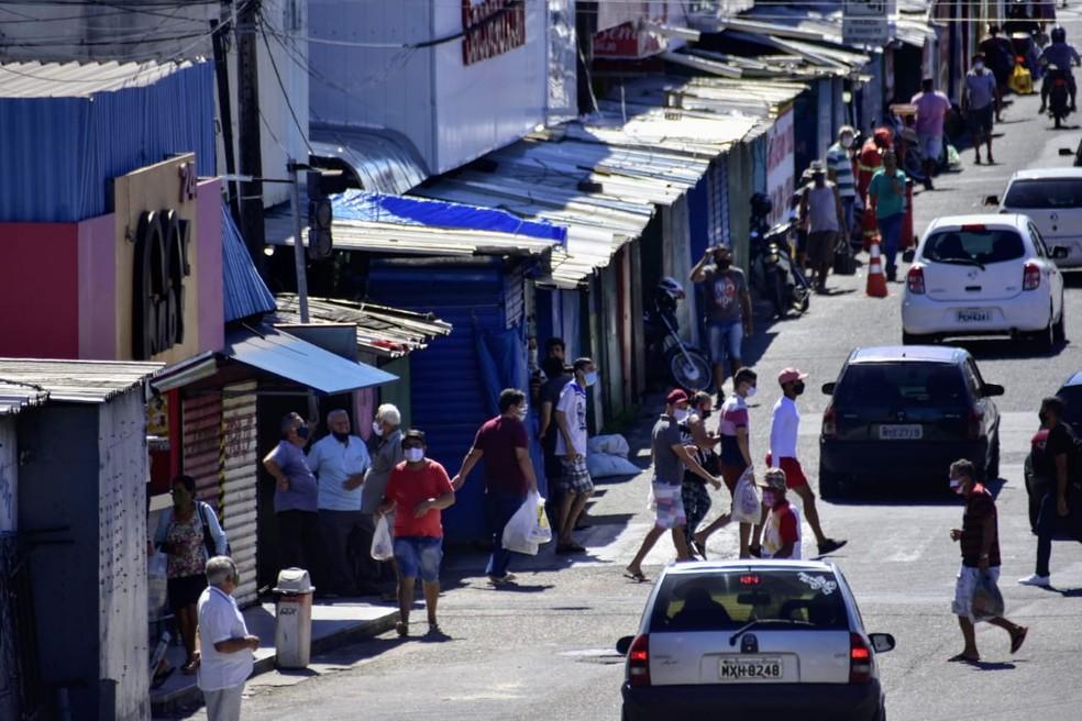 Comércio do Alecrim, Natal/RN. — Foto: Pedro Vitorino/Cedida