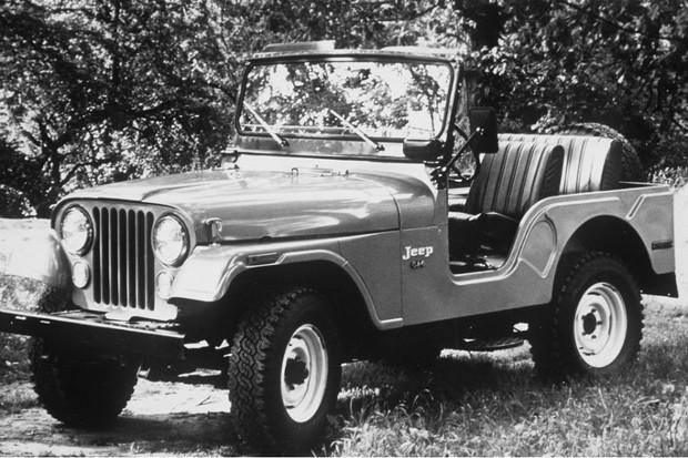 O carro mais vendido em 1958 no Brasil foi o Jeep Willys (Foto: Divulgação)