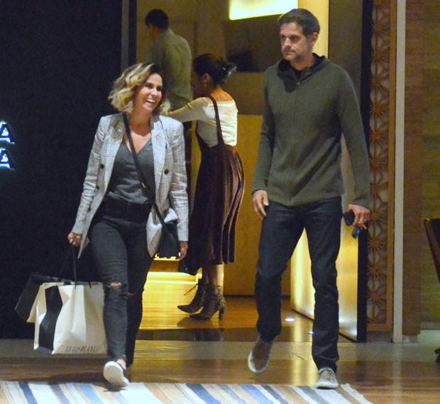 Giovanna Antonelli e Leonardo Nogueira (Foto: AgNews / Webert Belicio)
