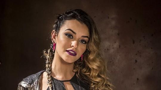 Inspirado em Rihanna, figurino da personagem de Talita Younan aposta em tendência da moda hip-hop